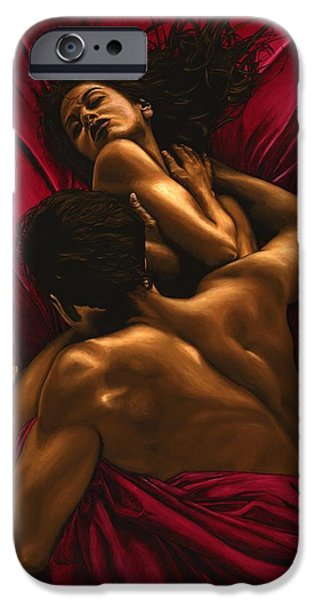 Relaxed iPhone Cases - The Passion iPhone Case by Richard Young