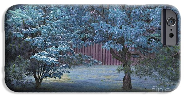 Pastel iPhone Cases - The Pastel Landscape Dream iPhone Case by Jari Hawk