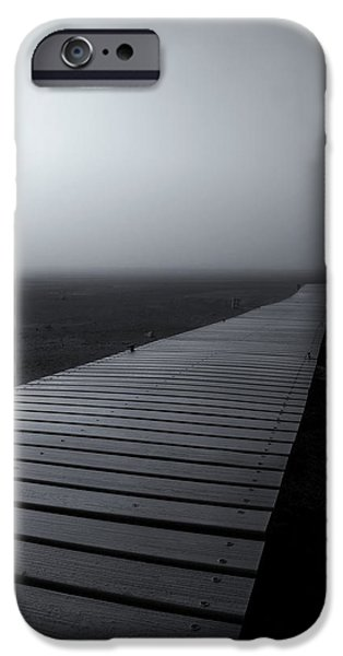 Fog Mist iPhone Cases - The Path iPhone Case by Mike  Dawson