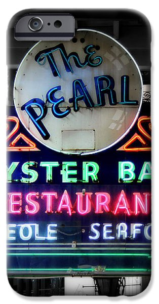 The Pearl iPhone Case by Perry Webster