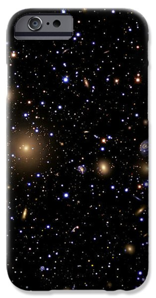 The Perseus Galaxy Cluster iPhone Case by R Jay GaBany