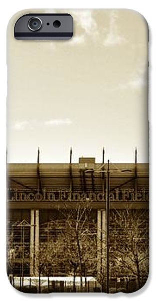 The Philadelphia Eagles - Lincoln Financial Field iPhone Case by Bill Cannon