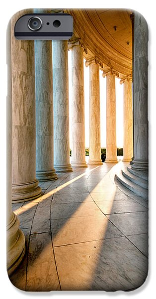 President iPhone Cases - The Pillars of D.C. iPhone Case by Greg Fortier