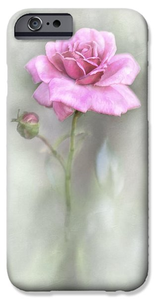 Buy iPhone Cases - The Pink Rose iPhone Case by David and Carol Kelly