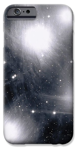 The Pleiades Star Cluster, Also Known iPhone Case by Stocktrek Images
