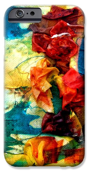 Spring Tapestries - Textiles iPhone Cases - The Pond iPhone Case by Beverly Johnson