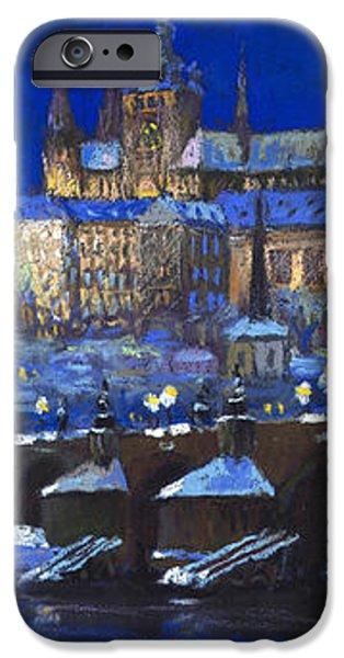 The Prague Panorama iPhone Case by Yuriy  Shevchuk