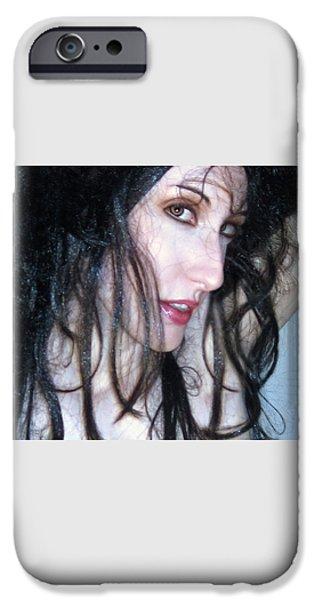 The Promise -Self Portrait iPhone Case by Jaeda DeWalt