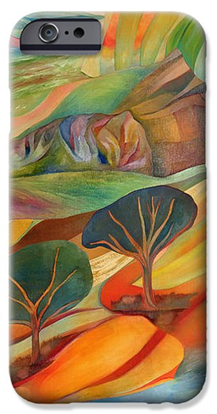 Self Discovery iPhone Cases - The Promised Land iPhone Case by Linda Cull