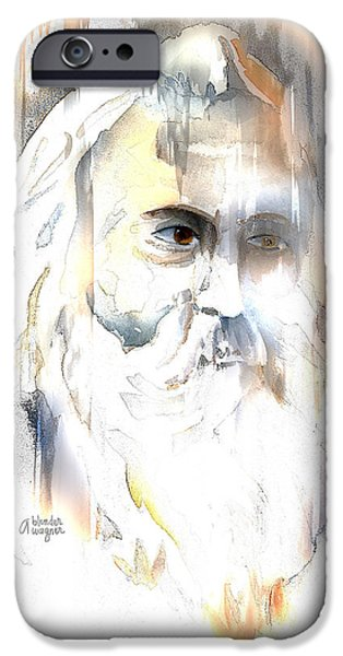 The Prophet iPhone Case by Arline Wagner