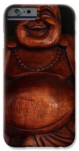 The Protector of Wealth iPhone Case by Nancy Harrison