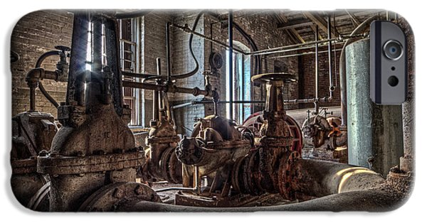 Machinery iPhone Cases - The Pumphouse iPhone Case by Everet Regal