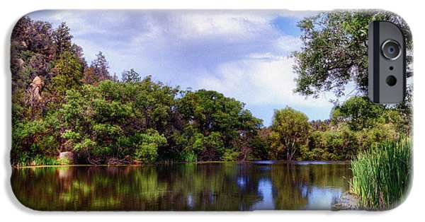 Prescott iPhone Cases - The Quietness of Natures Blessings iPhone Case by Thomas  Todd