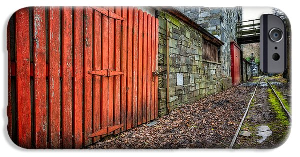Red Door iPhone Cases - The Red Gate iPhone Case by Adrian Evans