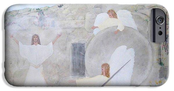 Miracle iPhone Cases - The Resurrection iPhone Case by Karen J Jones