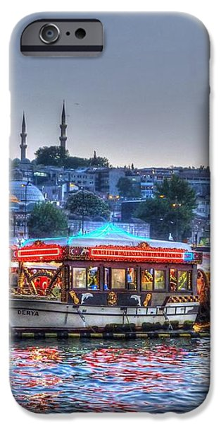 The Riverboats of Istanbul iPhone Case by Michael Garyet
