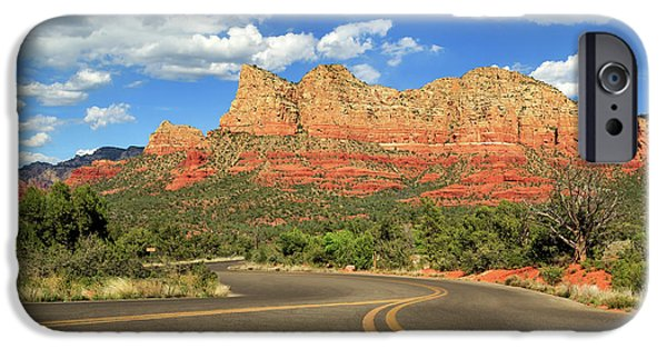 Sedona iPhone Cases - The Road To Sedona iPhone Case by James Eddy