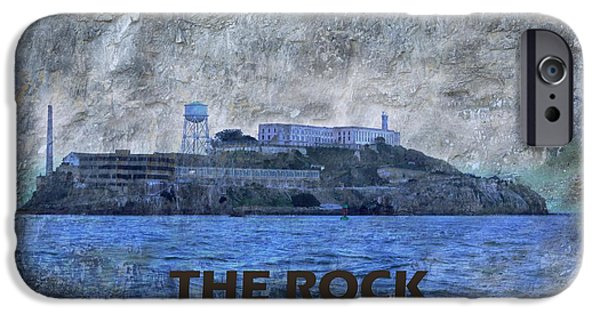 Alcatraz iPhone Cases - The Rock iPhone Case by Natalie Ortiz