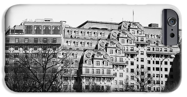 President iPhone Cases - The Roof of the Willard Hotel Washington D.C. iPhone Case by Marina McLain