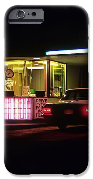 The Roosevelt Drive Inn iPhone Case by Corky Willis Atlanta Photography