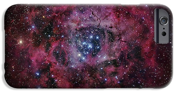 Recently Sold -  - Stellar iPhone Cases - The Rosette Nebula iPhone Case by Robert Gendler