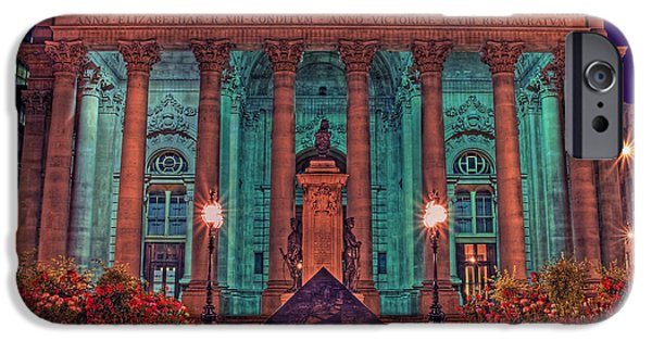 Best Sellers -  - Finance iPhone Cases - The Royal Exchange in The City London iPhone Case by Chris Smith