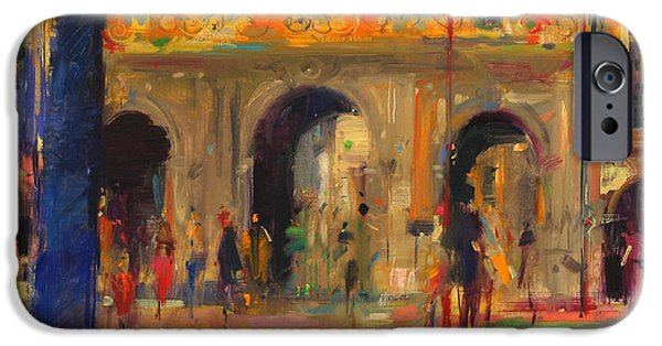 Balcony iPhone Cases - The Royal Pavillion iPhone Case by Peter Graham