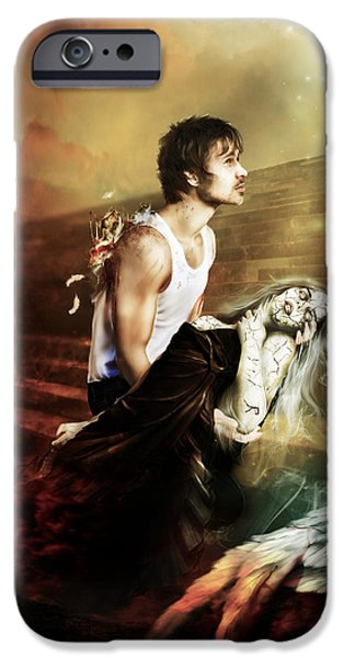 The Sacrifice iPhone Case by Karen K