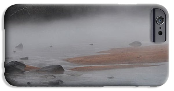 Covered Bridge iPhone Cases - The Sandbar iPhone Case by Skip Willits