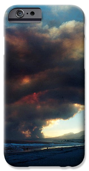 The Santa Barbara Fire iPhone Case by Jerry McElroy