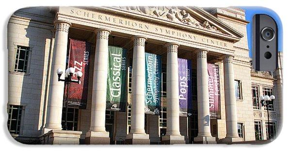 Nashville Architecture iPhone Cases - The Schermerhorn Symphony Center iPhone Case by Susanne Van Hulst