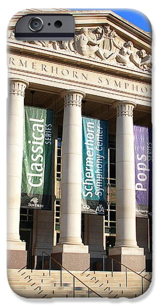 The Schermerhorn Symphony Center iPhone Case by Susanne Van Hulst