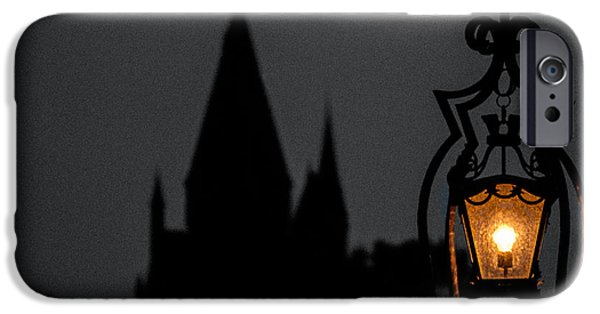 Hermione Granger iPhone Cases - The Shadows of Hogwarts iPhone Case by Bobby Uzdavines
