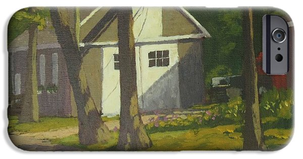Rural Maine Roads iPhone Cases - The Shop at Aldermere iPhone Case by Bill Tomsa