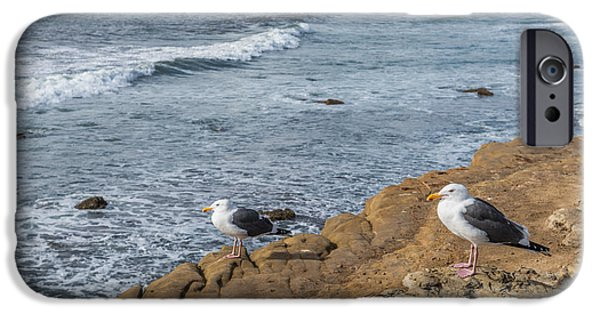 Rocky iPhone Cases - The Shore Patrol iPhone Case by Duane Miller