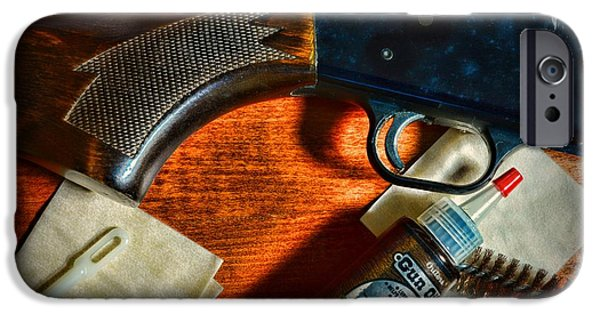 Weapon iPhone Cases - The Shotgun iPhone Case by Paul Ward