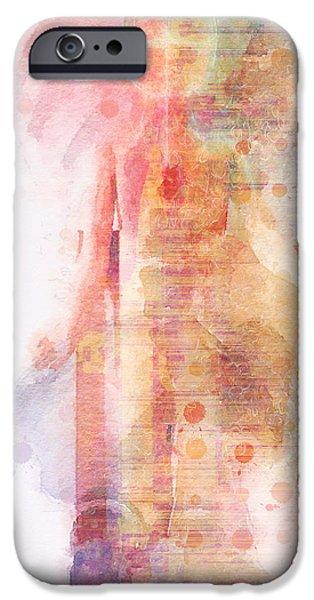 Turin Digital Art iPhone Cases - The Shroud of revodun iPhone Case by David Derr