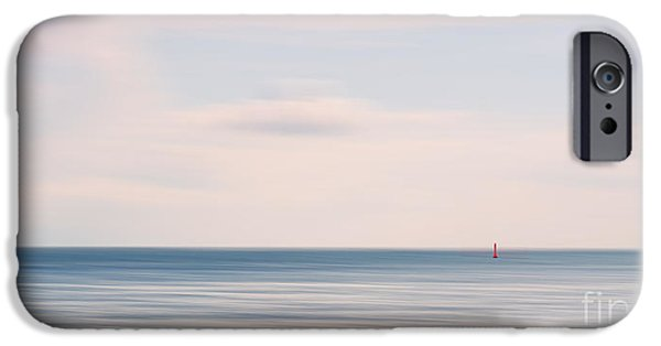 Wadden Sea iPhone Cases - The silence iPhone Case by Angela Doelling AD DESIGN Photo and PhotoArt