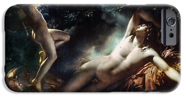 Best Sellers -  - Zeus iPhone Cases - The Sleep Of Endymion iPhone Case by Granger