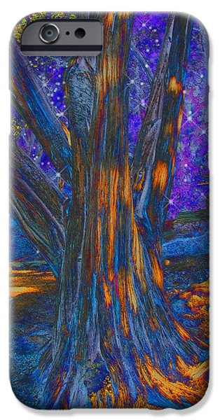 Slumber iPhone Cases - The Sleeping Tree iPhone Case by Wendy J St Christopher