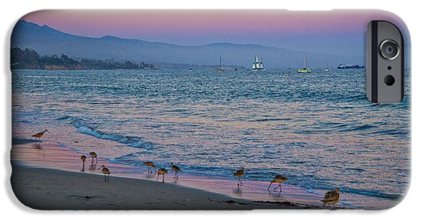 Ocean Sunset iPhone Cases - The Soft Side of Sunset iPhone Case by Lynn Bauer