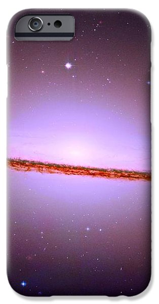 The Sombrero Galaxy M104 iPhone Case by Don Hammond
