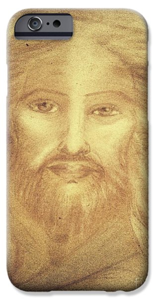 Son Of God Pastels iPhone Cases - The Son of God iPhone Case by Jennifer Kamadon