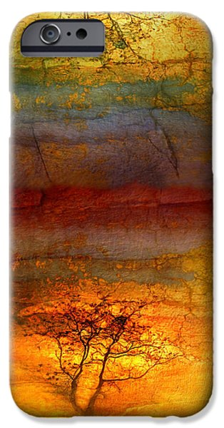 Tara Turner iPhone Cases - The Soul Dances Like a Tree in the Wind iPhone Case by Tara Turner