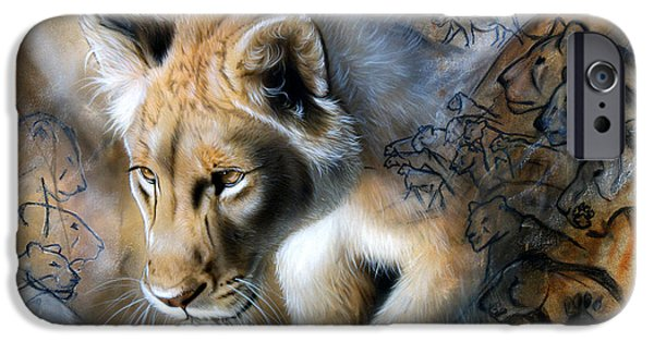 Recently Sold -  - Airbrush iPhone Cases - The Source iPhone Case by Sandi Baker