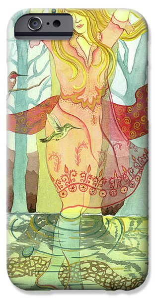 Hummingbird iPhone Cases - The Source iPhone Case by Sheri Howe