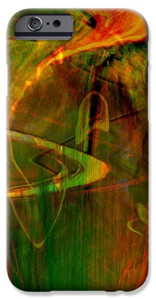 The spirit glows iPhone Case by Linda Sannuti