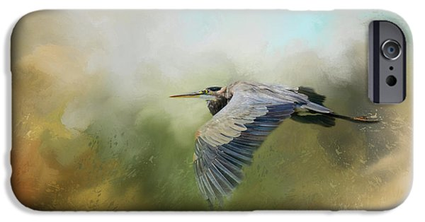 Flight iPhone Cases - The Spray Of The Sea iPhone Case by Jai Johnson