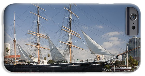 Windjammer iPhone Cases - The Star Of India Is The Worlds Oldest iPhone Case by Michael Wood