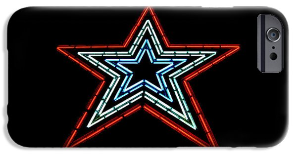 July 4th iPhone Cases - The Star of The Star City iPhone Case by Rolln Home
